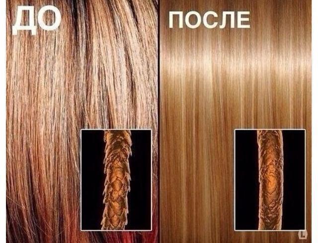 Нано-ботокс для волос